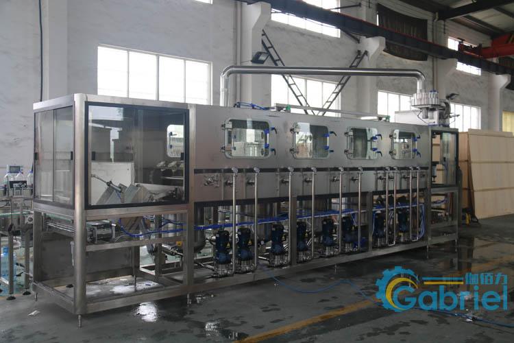 全自动桶装水生产线全套设备 大桶矿泉水灌装机