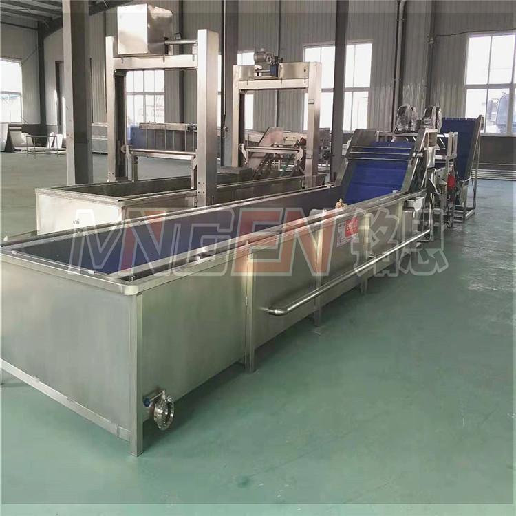 供應不鏽鋼洗魚機-氣泡式海鮮清洗設備