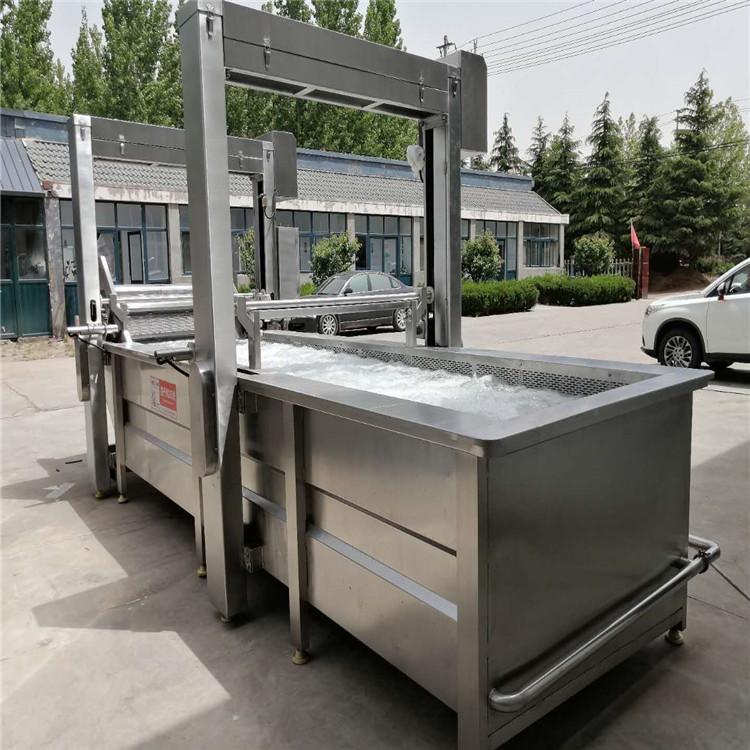 肉丸連續蒸煮機 肉製品漂燙設備