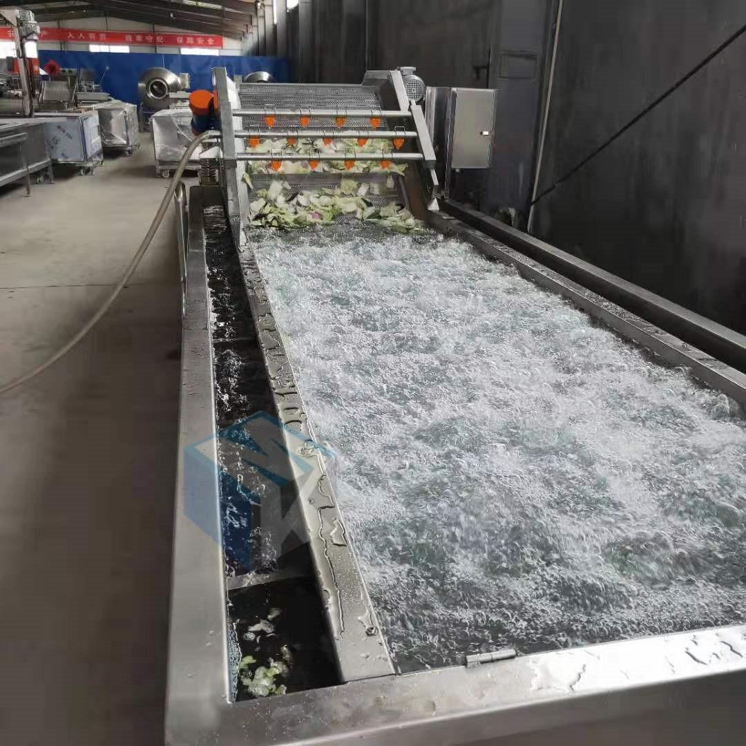 大型全自动泡椒清洗机 泡椒深加工清洗流水线厂家直销