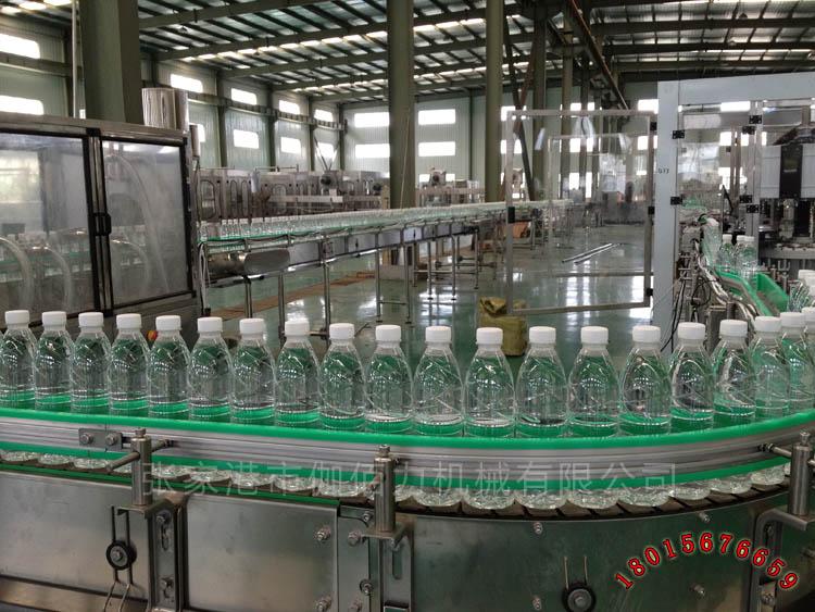 瓶装纯净水生产线工艺流程