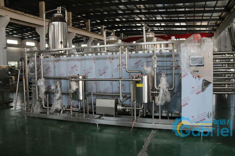 鲜榨果汁饮料灌装生产线 芒果汁饮料自动灌装设备