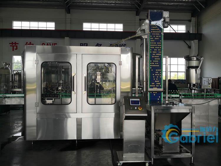 碳酸饮料汽水自动化生产设备