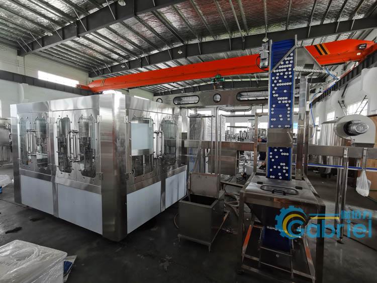 果汁饮料灌装机 果汁生产加工设备 饮料全自动生产线