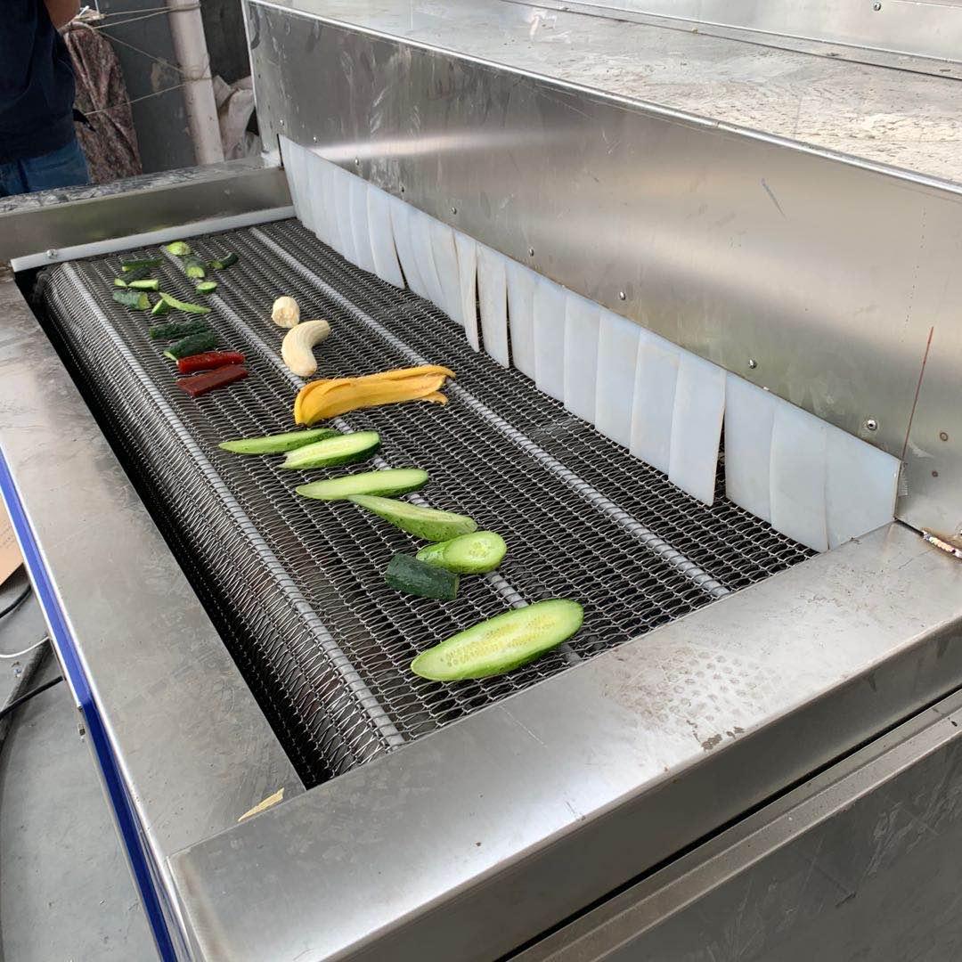 产品预冷机 鲜玉米速冻机 食品隧道式速冻设备