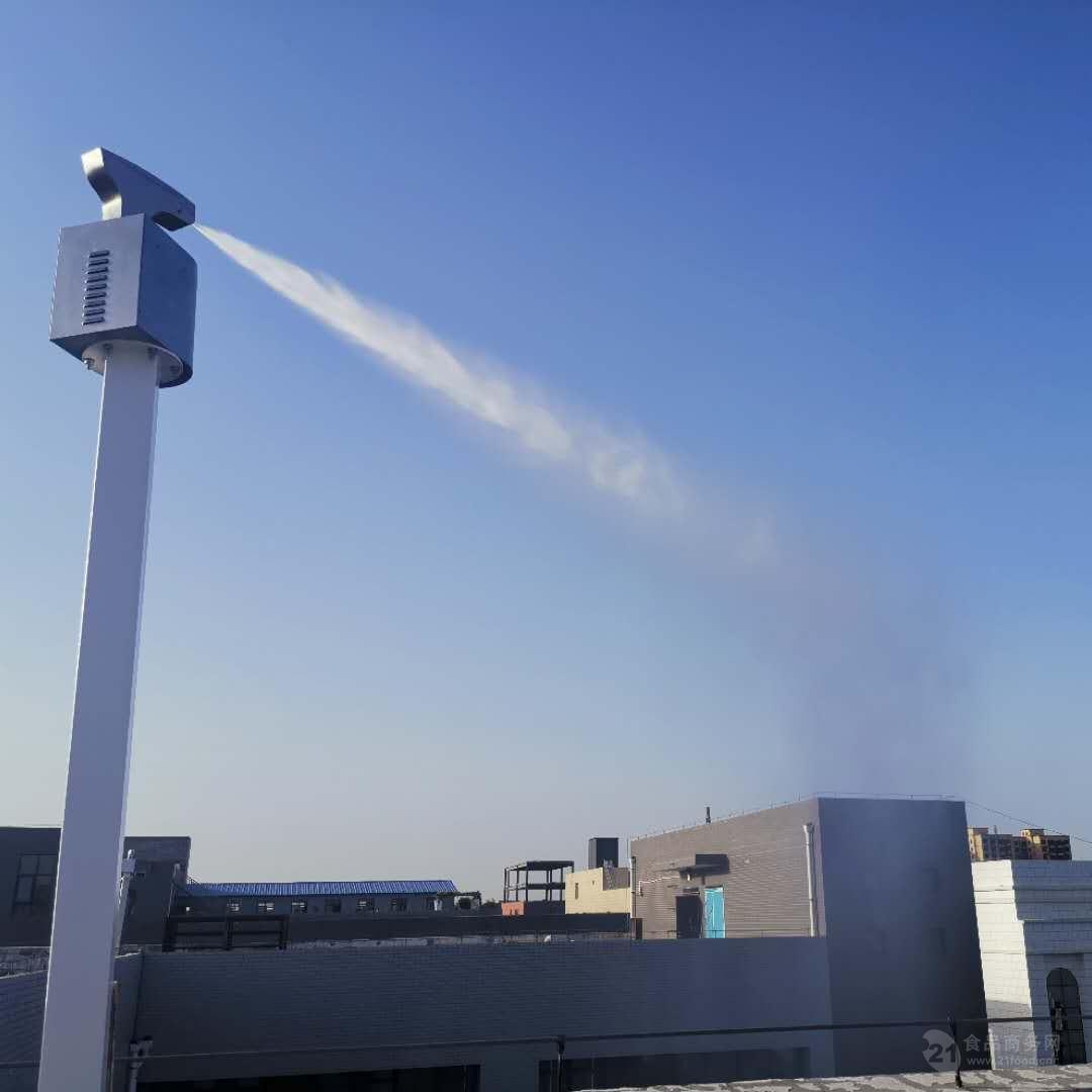 高大上!路灯喷雾降尘系统你见过吗?