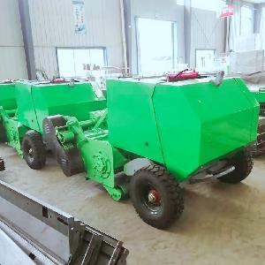 玉米秸秆粉碎打捆机 秸秆切碎回收机器