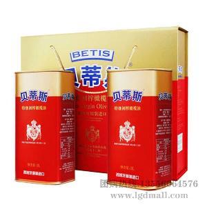 原裝進口貝蒂斯特級初榨橄欖油500ML瓶裝批發團購