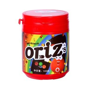 歐樂茲oriz's原味牛奶巧克力豆105g瓶裝