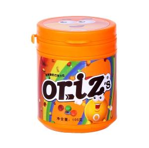 歐樂茲oriz's經典酸奶巧克力豆105g瓶裝