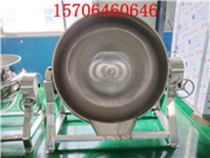 厂家直销 不锈钢立式电加热夹层锅 美林定制