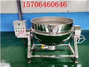 JM-100L食品专用可倾式电加热夹层锅