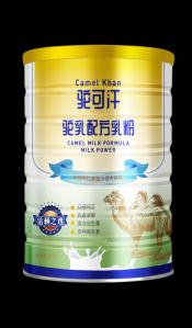 纯骆驼奶粉招商加盟   驼可汗益生菌驼奶粉300g罐装适合人群广