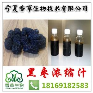黑枣浓缩汁 黑枣原汁 提取液供应商香草生物