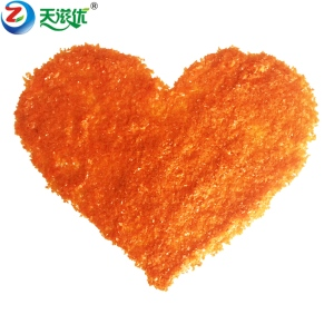 供應壓片糖口香糖專用閃片橙黃橙色閃片