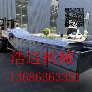 厂家直销莲藕毛豆漂烫预煮机 竹笋漂烫预煮加工生产设备