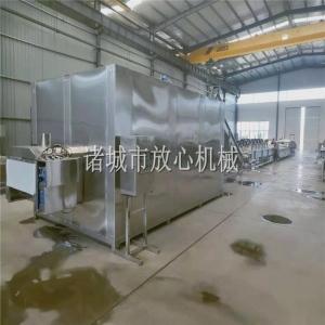 FC-6000多层不锈钢玉米蒸煮机设备