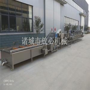 国内连续式FX系速冻薯条生产线 效率高