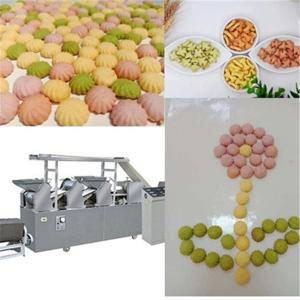 全自動食品餅干機械加工設備餅干生產流水線價格朗正機械直營