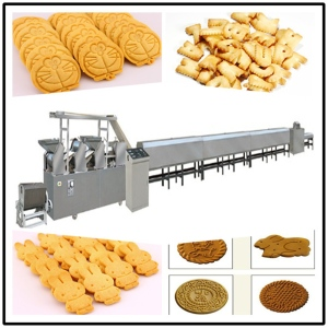 饼干成套设备 自动饼干生产线 饼干烘烤设备