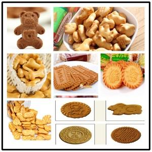 英文字母饼干生产线全自动饼干机价格朗正机械供应