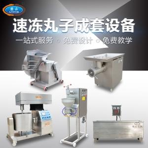 全套冷凍肉丸加工設備自動速凍丸子生產流水線