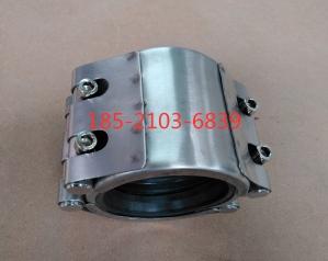 RCD-L双卡不锈钢管道抢修节管道堵漏器
