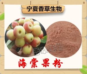 海棠果粉 固原海棠果提取物 浓缩汁 浸膏供应海棠果多糖