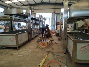 诚达肉丸水煮线机器 生产肉丸水煮线设备