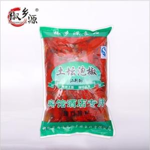 批發滿湘福泡紅椒2.0千克雞澤辣椒醬腌菜價格