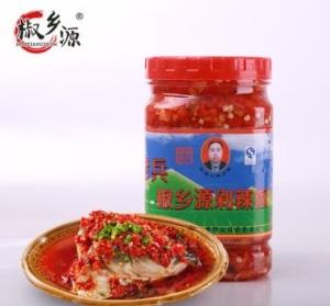 雞澤椒鄉源調味品剁辣椒1.0千克瀏陽河魚頭剁椒