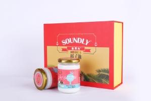 桑德利椰子油2x300禮盒