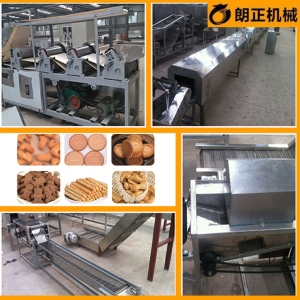餅干烘烤設備 自動餅干生產線 酥性、韌性餅干加工設備
