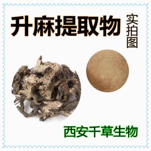 升麻提取物升麻浸膏 厂家生产植物提取物水溶性升麻浓缩粉