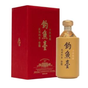 上海钓鱼台白酒价格【钓鱼台V20礼盒】500ml*2瓶09
