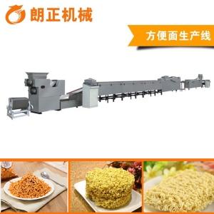 小型方便面加设备 火锅面饼生产流水线 油炸方便面机