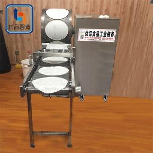 全自动新款面皮机 圆形方形定制春卷皮机械厂家 商用春卷皮机