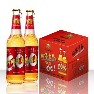 500毫升大瓶10度啤酒招商兰州代理商
