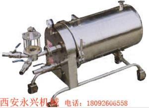 硅藻土过滤机操作简便、体积小、重量轻、效率高、移动方便
