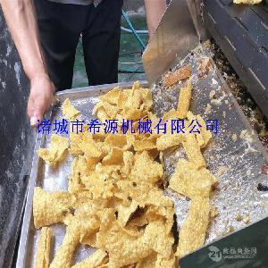 润甜苦荞片油炸机 苦荞片油炸生产线 苦荞片加工设备专业厂家