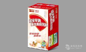 山东鸿博花生牛奶250ml*20盒/箱