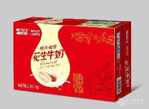 鴻博花生牛奶250ml*20盒