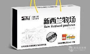 山東鴻博 黑牛奶250ml*12盒