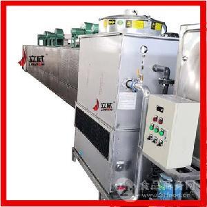 LW-30HWV流水线式绳子微波干燥设备