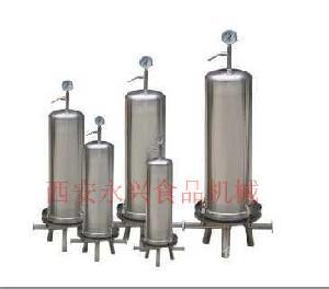 微孔膜过滤器用饮料和水处理的过滤占地面积小操作简便多规格可选