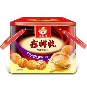 3斤餅干禮盒_貓大師無糖3斤禮盒餅干廠家