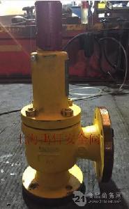 衬氟塑料安全阀A42F46化工,化学腐蚀性弹簧安全阀