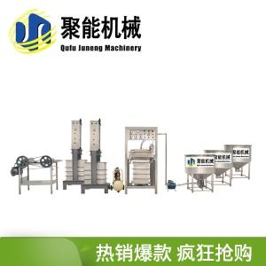 山东豆腐皮机 聚能机械仿手工豆腐皮机视频