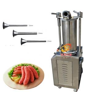 小型工厂用液压灌肠机 粉肠液压灌肠机