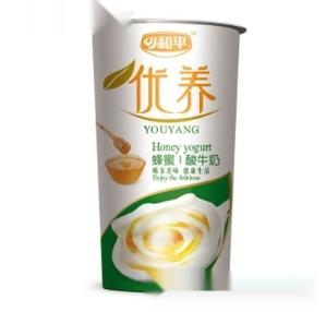 和平优养蜂蜜酸牛奶